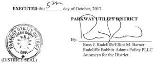 October 12, 2017 Agenda Signature