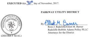 December 5, 2017 Agenda Signature