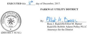 December 14, 2017 Agenda Signature