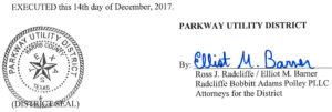 December 19, 2017 Agenda Signature
