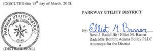 March 20, 2018 Agenda Signature