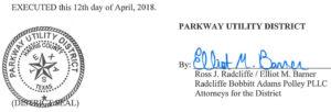 April 17, 2018 Agenda Signature