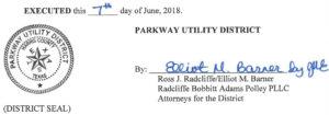 June 14, 2018 Agenda Signature