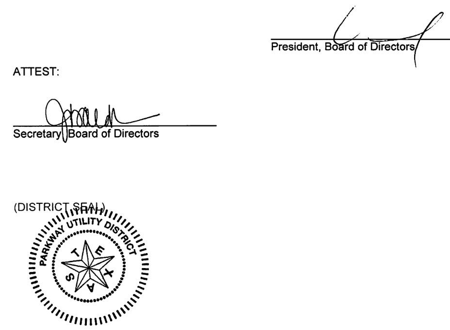 February 14, 2019 Minutes Signature