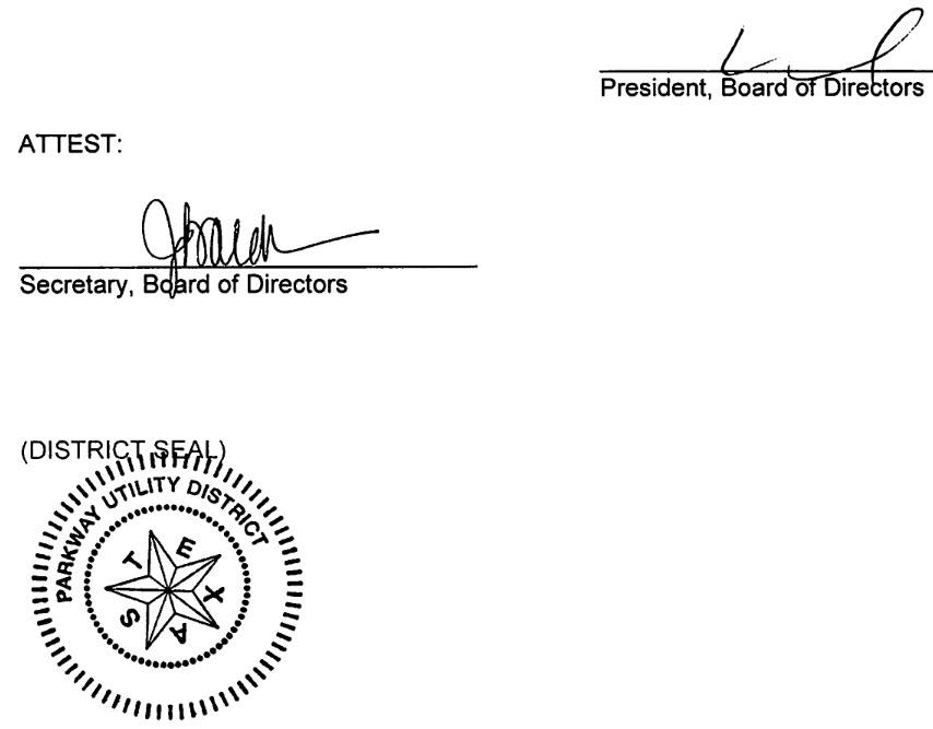 February 27, 2019 Minutes Signature