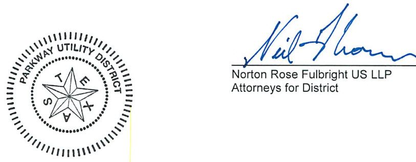 Norton Rose Fulbright US LLP Attorneys for District