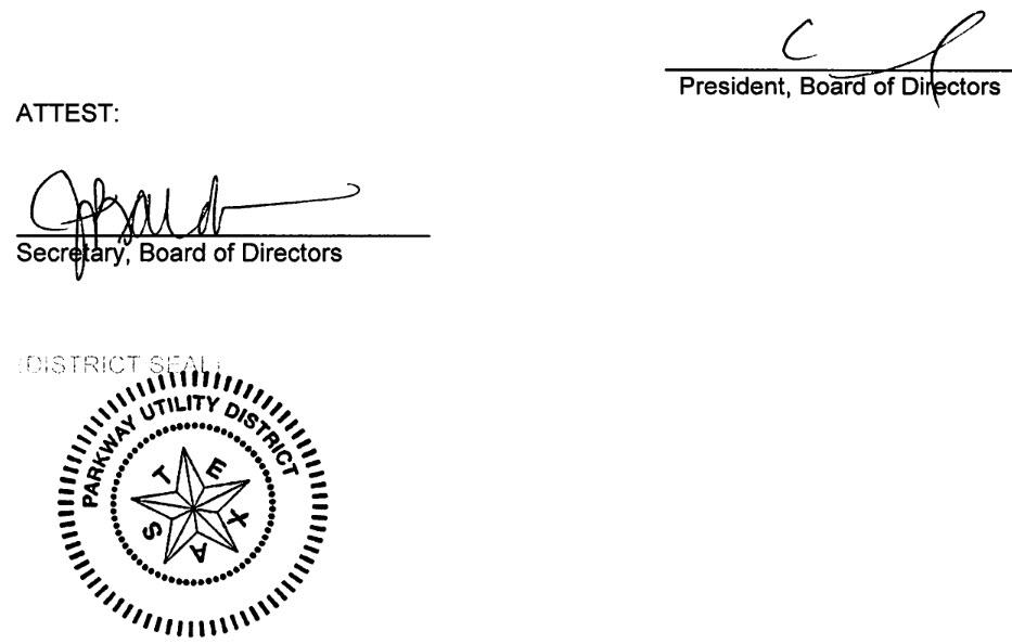 May 8, 2019 Minutes Signature