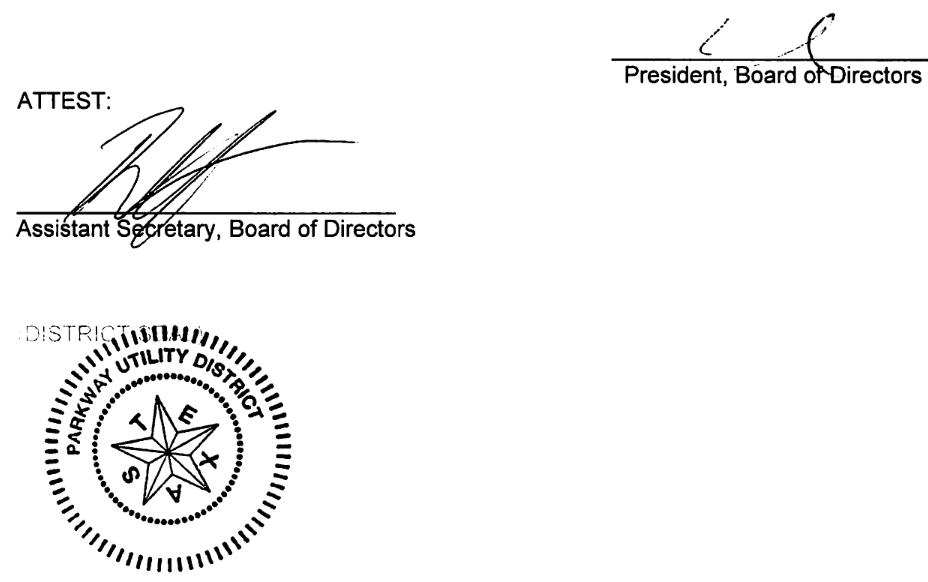 June 12, 2019 Minutes Signature