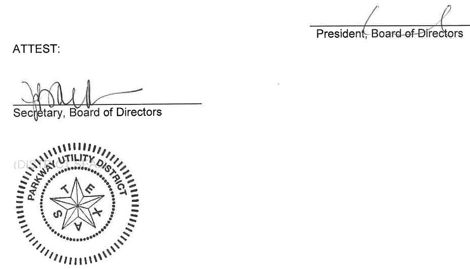 August 20, 2019 Minutes Signature