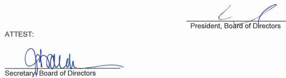 November 13, 2019 Minutes Signature