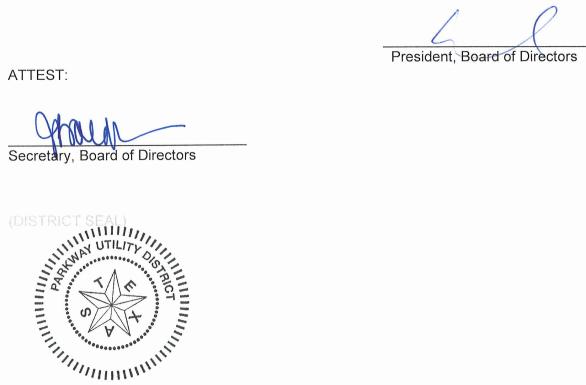 December 11, 2019 Minutes Signature