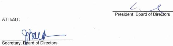 January 8, 2020 Minutes Signature
