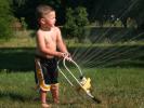 Boy - Sprinkler